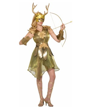 Green Huntress Women Costume