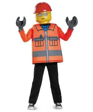 Lego Construction Worker Boys Costume