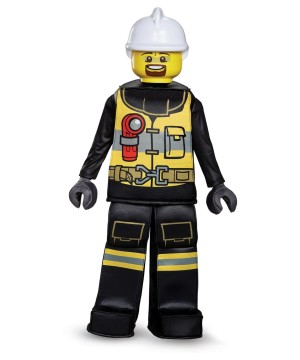 Lego Firefighter Boys Costume