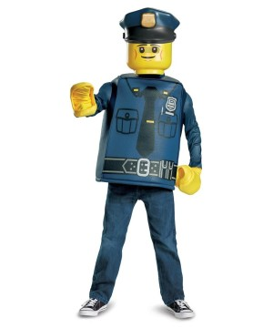 Lego Police Officer Boys Costume