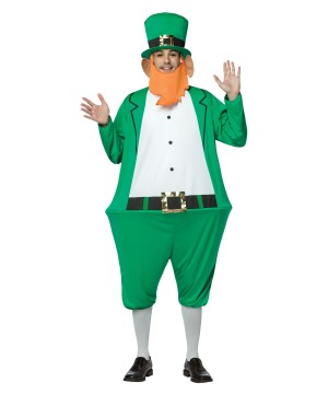 Mens Leprechaun Hoopster Costume