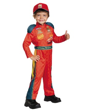 Lightning Mcqueen Boys Costume