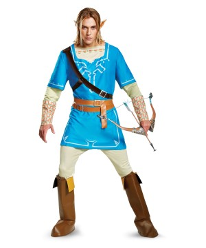 Link Breath of the Wild Men Costume