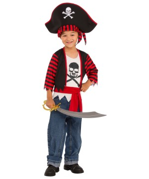 Little Pirate Boys Costume