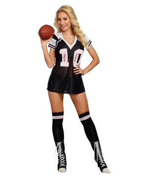 Major League Football Womens Costume