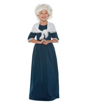 Martha Washington Girls Costume