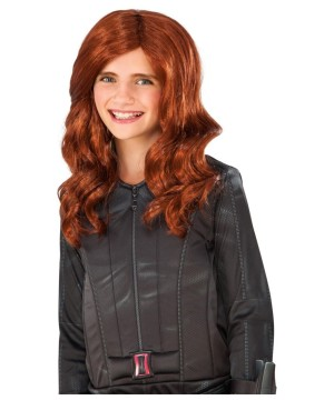 Marvel Black Widow Wig