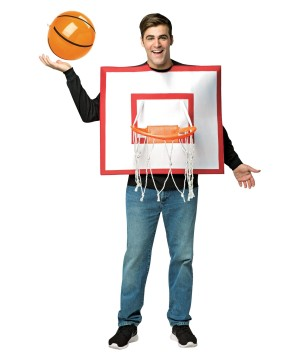 Mens Basketball Hoop Costume