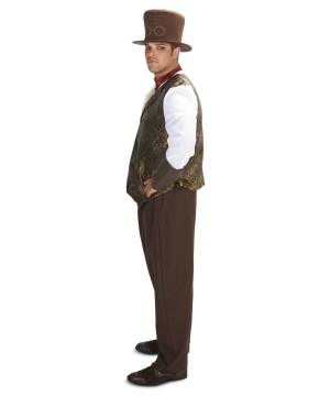 Mens plus Formal Steampunk Attire