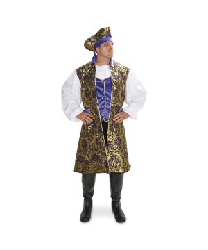 Mens Royal Renaissance Pirate Costume
