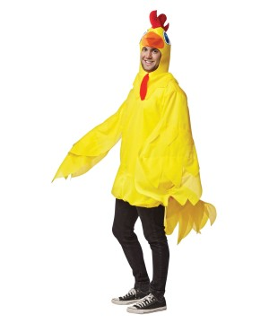 Mens Yellow Chicken Costume