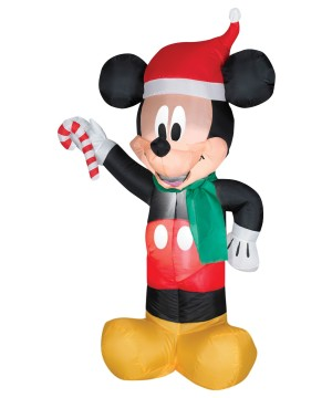 Mickey Mouse Christmas Airblown Inflatable