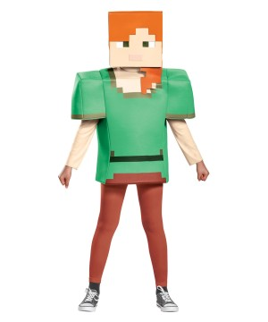 Minecraft Alex Girls Costume