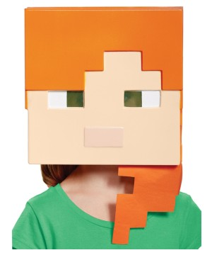 Minecraft Alex Girls Mask
