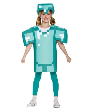 Minecraft Armor Girls Costume