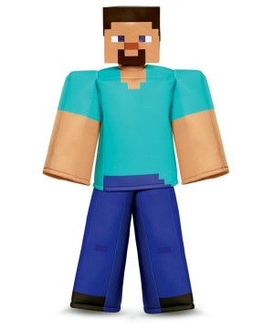 Minecraft Steve deluxe Boys Costume