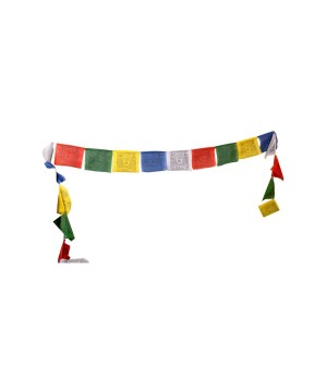 Mini Tibetan Buddha Prayer Flag Roll