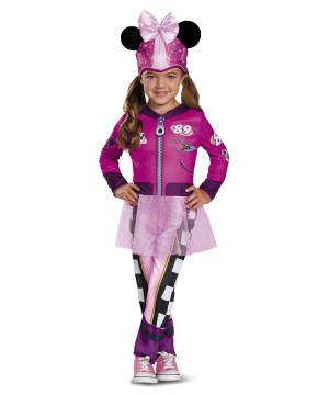 Minnie Mouse Road Racer Toddler Girls Costume
