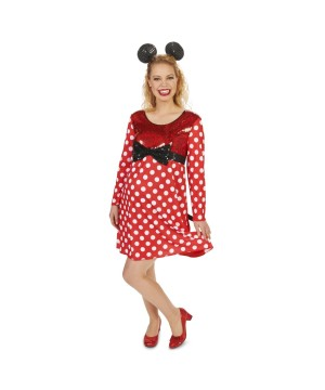 Minnie Mouse Womens Maternity Costume