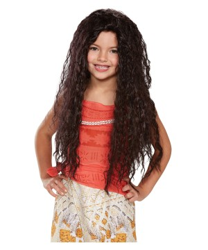 Moana Girls Wig