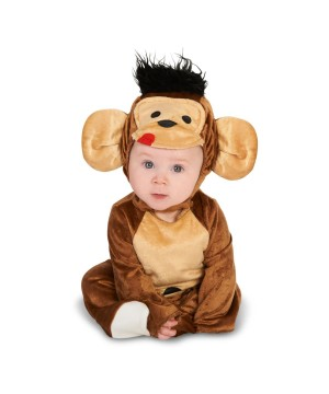 Monkey Jungle Baby Boys Costume