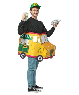 Mr. Taco Food Truck Mens Costume