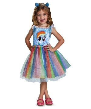 My Little Pony Rainbow Dash Toddler Girls Costume