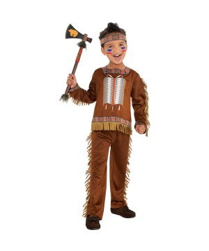 Native American Indian Boys Costume