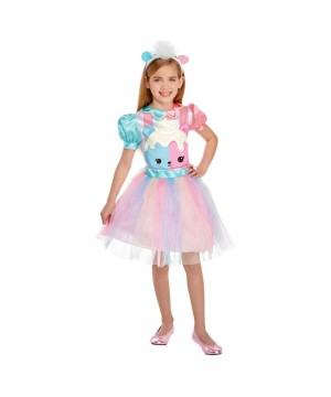 Num Noms Candie Puff Girls Costume