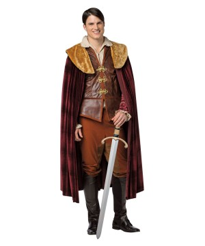 Once Upon a Time Prince Charming Men Costume