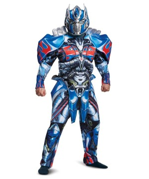 Optimus Prime Mens Costume