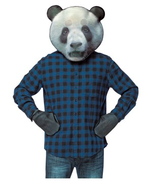 Panda Mask Costume Kit