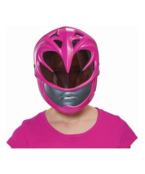 Pink Power Ranger Girls Movie Mask