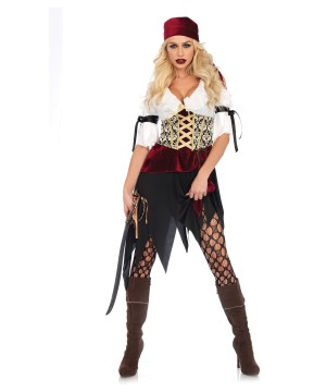 High Seas Wench Pirate Women Costume