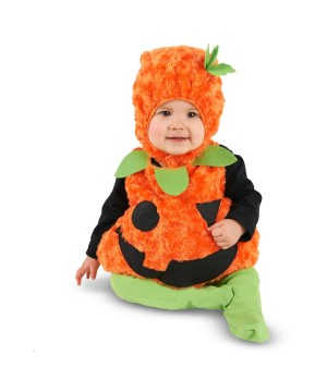 Plump Pumpkin Baby Boys Costume