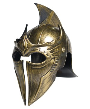 Mens Pointed Gladiator Helmet