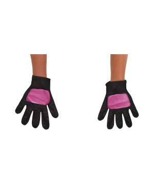 Power Ranger Pink Toddler Gloves