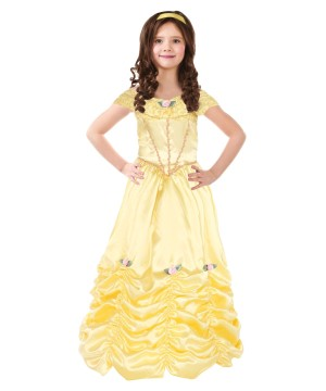 Princess Belle Girls Costume