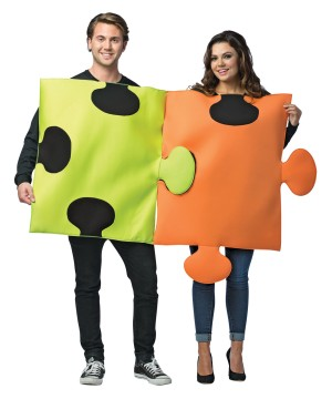 Puzzle Pieces Couples Costume