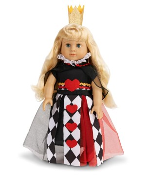 Queen of Hearts Doll Costume