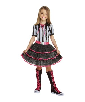 Girls Referee Dazzler Costume