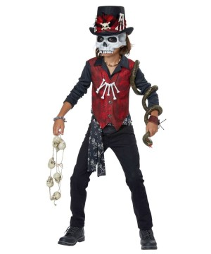 Scary Voodoo Boys Costume