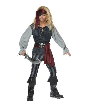 Sea Pirate Boys Costume
