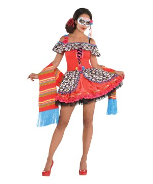 Senora Sugar Skull Women Costume
