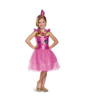 Shopkins Lippy Lips Girls Costume