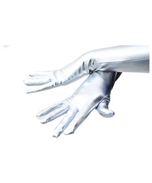 Silver Adult Gloves