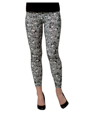 Skeleton Womens Leggings
