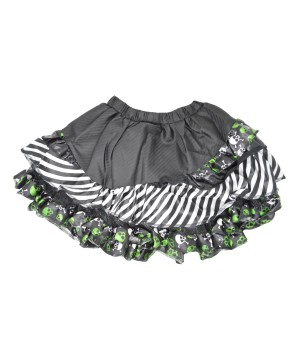 Skull Stripes Skirt