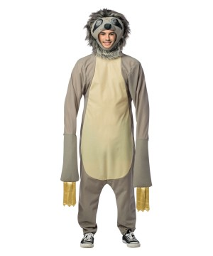 Mens Sloth Costume
