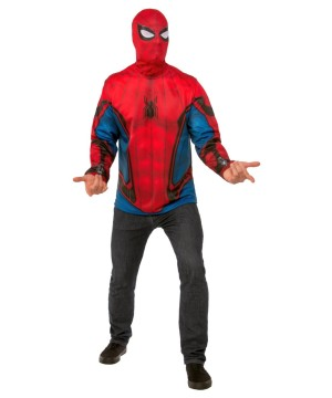 Spiderman Homecoming Mens Costume Top